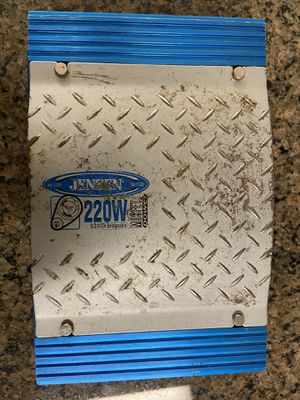Jensen 220 Watts 3/2/1 Chanel Bridgeable Car Amplifier model XA1120 for Sale in Marietta, GA