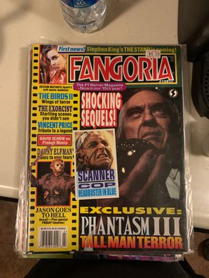 Fangoria issue 130 thru 137 for Sale in Wheaton, IL