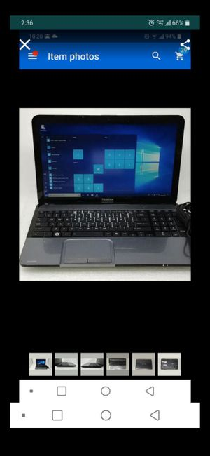 Toshiba laptop for Sale in Affton, MO