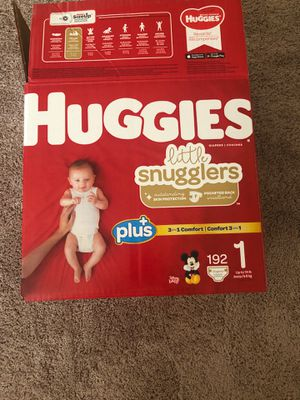 Huggies diapers size 1 for Sale in Gilbert, AZ