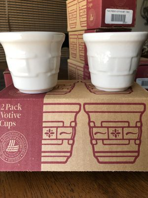 Longaberger Booking Votives for Sale in Moreno Valley, CA