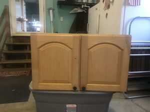 New single wood upper wall cabinet. for Sale in Newport News, VA