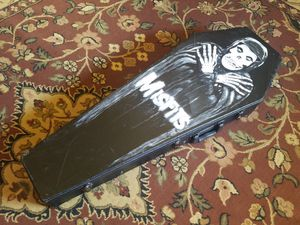 Coffin Guitar Case - Misfits - Signed By Artist for Sale in Orlando, FL