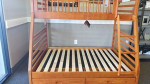 New Twin over Full Bunk Bed with Storage for Sale in Cayce, SC