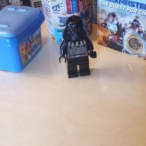 2 Sets Of Lego, A Lego Book And A Darth Vader Lego Clock for Sale in Albuquerque, NM