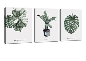Botanical Wall Art Decor 3 Piece Framed Canvas Prints for Sale in Williamsburg, VA