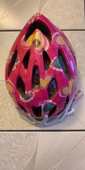 Schwinn Thrasher Girls' Bicycle Helmet, Pink Hearts, Child for Sale in Pembroke Park, FL
