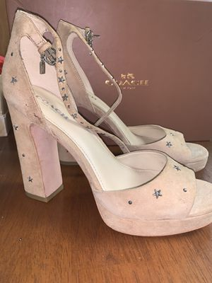 Coach Studded Heels Size 7 for Sale in Hempstead, NY