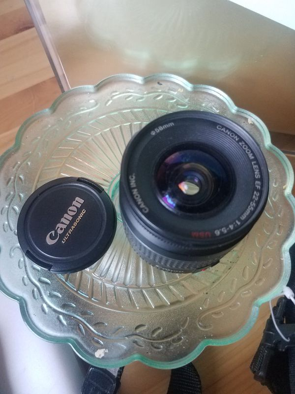 Vintage Canon Camera EOS 1X Lite with 22-55mm Lens