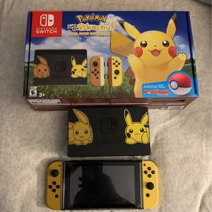 Nintendo Switch Pikachu And Eevee Edition for Sale in Fort Lauderdale, FL