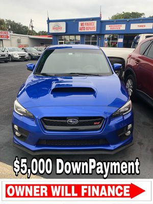 2015 Subaru Wrx sti limited v4 turbocharger for Sale in Tampa, FL