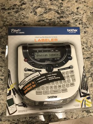Brother label printer for Sale in San Diego, CA