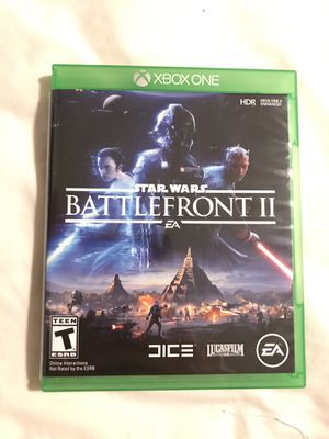 Star Wars battlefront 2 Xbox 1 for Sale in Apex, NC