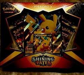 Shining Fates Pikachu V Box - Pokémon NEW for Sale in Fort Lauderdale,  FL