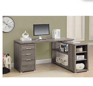 Corner desk grey NEW for Sale in Dublin, CA