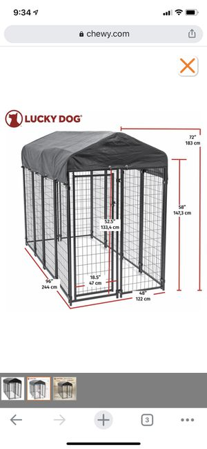 Outdoor large dog kennel PENDING PICK UP for Sale in San Diego, CA