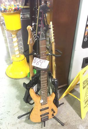 New York pro 5 string electric guitar for Sale in New Britain, CT