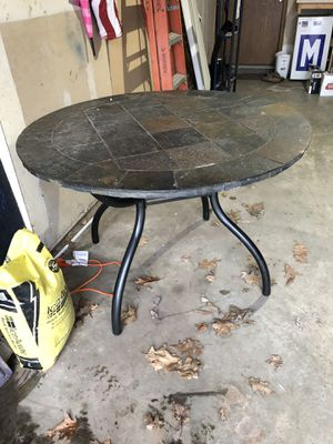 Indoor/outdoor slate/ stone table for Sale in Johnsburg, IL