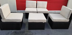 5 piece wicker set New in boxes for Sale in Morrisville, NC