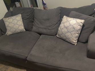 Grey Big Comfy Couch for Sale in Long Beach,  CA