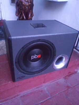 Pb 10inch ad matching amp for Sale in Hayward, CA