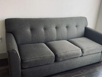 LA-Z BOY GREY SOFA COUCH for Sale in Fort Worth,  TX