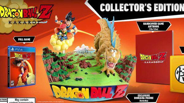 Dragon ball z collector 's edition