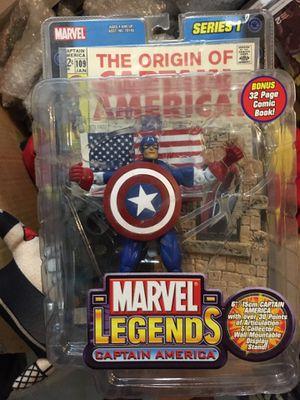 Marvel legends captain America series 1 for Sale in Las Vegas, NV