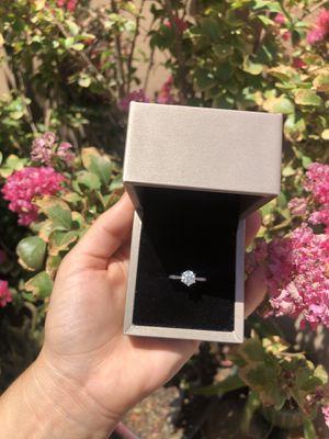 Moissanite diamond ring size 5.5 for Sale in Las Vegas, NV