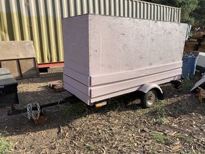 box utility trailer 8 foot long for Sale in Vista, CA