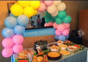🎈🎈🎈🎈🥳🥳Table balloon arch 🥳🥳🎈🏃‍♀️ for Sale in Corona, CA