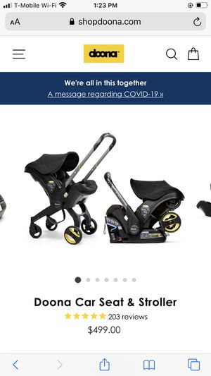 Doona car seat and stroller all in one for Sale in Beaverton, OR
