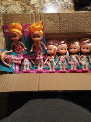 "Case of 5"" dolls (×24) for Sale in Pflugerville, TX"