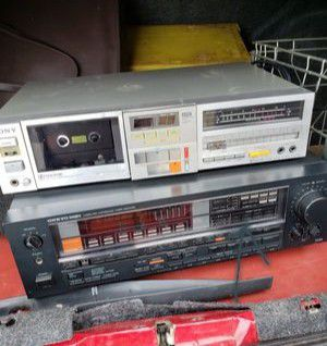 Stereo tape program recorder receivers for Sale in Fischer, TX