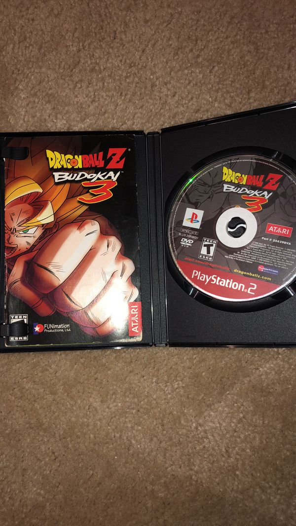 Dragonball z Budokai 3