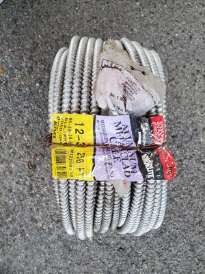12/3 250 feet aluminum armored wire. for Sale in Los Angeles, CA