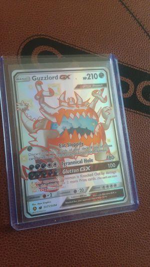 Guzzlord gx pokemon card for Sale in Mesa, AZ