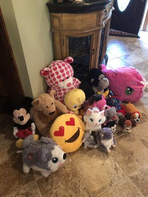 Stuffed animals for Sale in Jackson, NJ