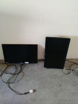 1080p dual monitors. 30each both $50firm flips 180 degrees for Sale in Tempe, AZ
