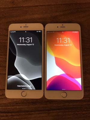 2 iPhone 6s Plus 16/64 GB unlocked for Sale in Los Angeles, CA