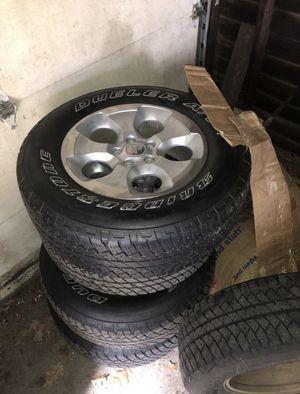 Jeep Wrangler JK used tires & wheels! Bridgestone for Sale in Lynn, MA