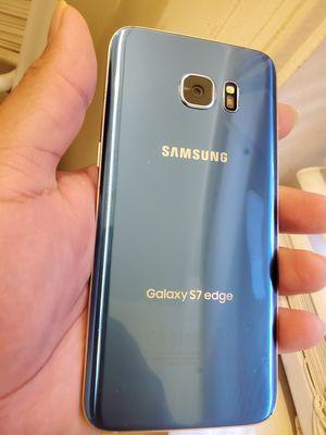S7 edge esta en lista negra con t móvil solo el teléfono personas serias for Sale in Kensington, MD