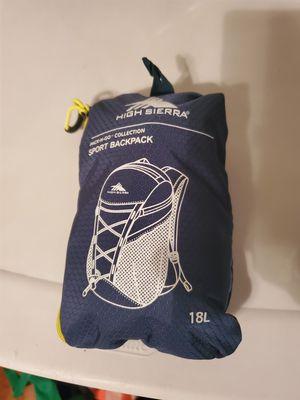 High Sierra Sport Backpack Blue&Black 18L for Sale in Kissimmee, FL