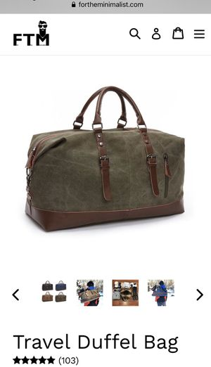 Travel Duffel Bag for Sale in Austin, TX
