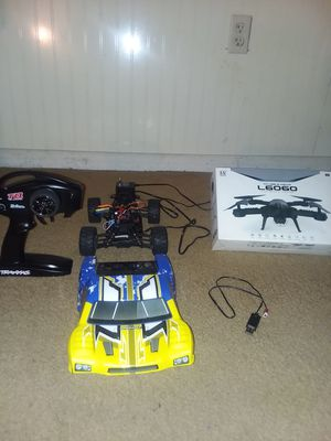 Rc radio control car plus flying Dron for Sale in NC, US