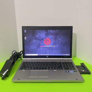 . Hp EliteBook 8560p Laptop, Windows 10 Pro - 180GB SSD , Intel i5, 8GB of GB Ram , 15 inch , webcam , Microsoft office, fast! for Sale in Arlington, TX