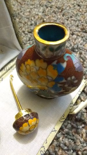 Antique Chinese cloisonne snuff bottle for Sale in El Cajon, CA