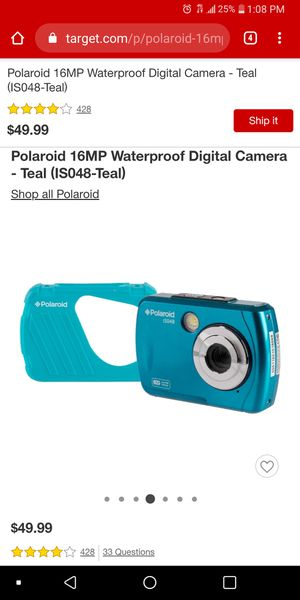 Polaroid waterproof camera for Sale in La Verne, CA