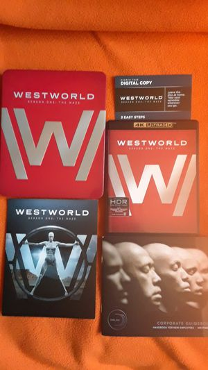 West World , Season One: The Maze 4K HDR Limited Edition Tin , Digital Code for Sale in Pasadena, CA