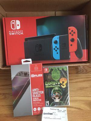 Nintendo switch console bundle for Sale in Braintree, MA